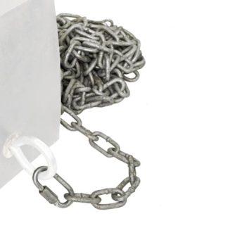 15' galvanized steel chain